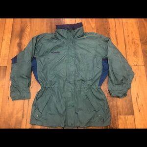 Columbia Jackets & Coats - Vintage Columbia Long Peek Jacket